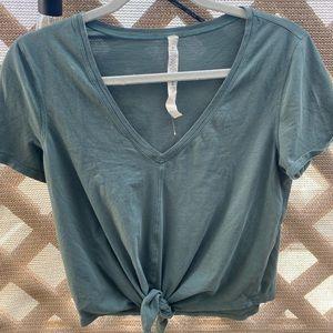 Lululemon Cropped Tshirt